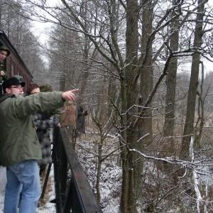 Na trasie kolejki leśnej, fot. Nadleśnictwo Hajnówka