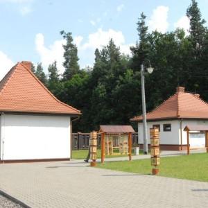 Dworzec kolejek leśnych, fot. Nadleśnictwo Hajnówka