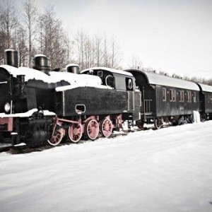 Apartamenty w wagonach kolejowych stylizowanych na saloniki carskie