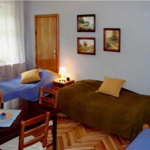 4-osobowy pokój z widokiem na zabytkowy park - parter, fot. Przemysław Charyton