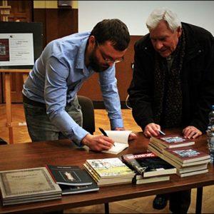Muzeum i Ośrodek Kultury Białoruskiej w Hajnówce; spotkanie Cyrylicą pisane, fot. Anieszka Tichoniuk