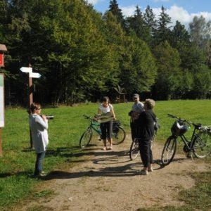 Przystanek na szlaku rowerowym