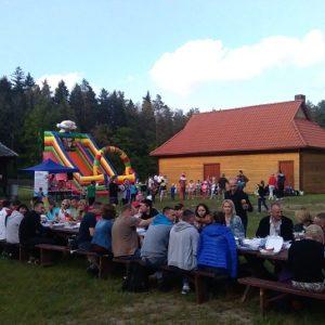 "Półmaraton Hajnowski - spotkanie w  OEL ""Jagiellońskie"", fot. Klaudia Formejster"